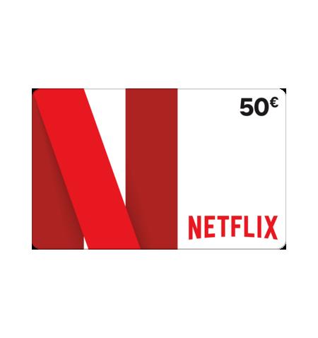 Carte Cadeau Netflix.Netflix Carte Prepayee 50