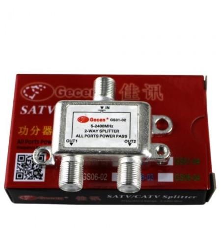 SPLITTER SAT GS01-02