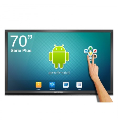 ECRAN TACTILE ANDROID CleverTouch Plus 1080p - 75""