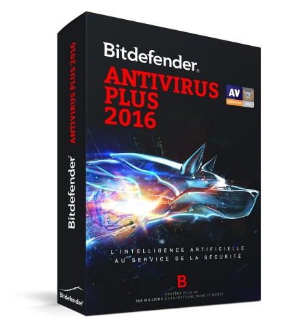 Bitdefender Antivirus Plus 2016 - 1P
