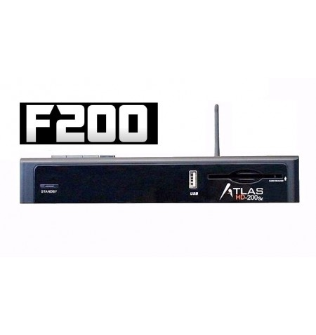 ATLAS HD 200SE boot F200