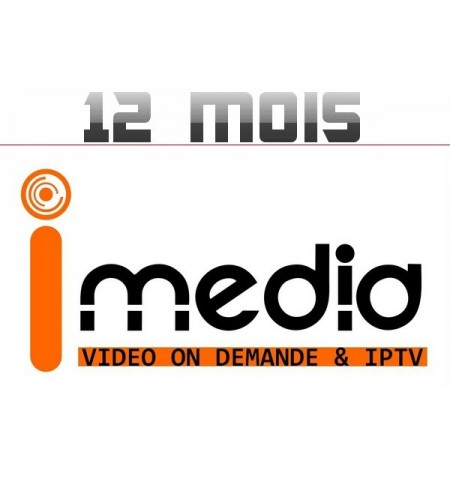 """SERVICE VOD """"IMedia"""" 12M"""