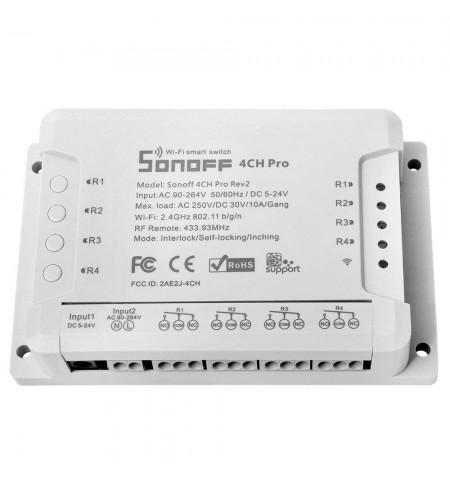 COMMUTATEUR SONOFF 4CH Pro R2