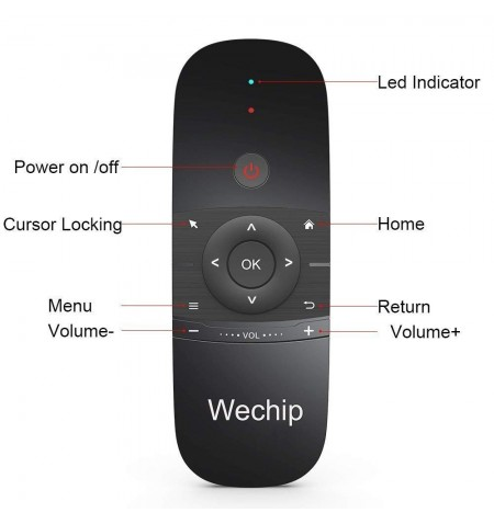 AIR MOUSE WECHIP W1