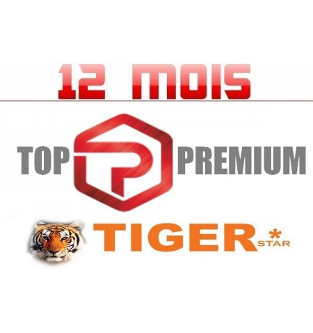 SERVICE TOP IPTV TIGER 12M
