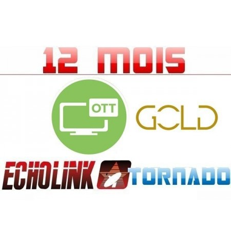SERVICE OTT GOLD TORNADO 12M