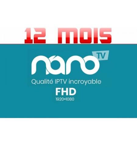 SERVICE NANOTV 12M