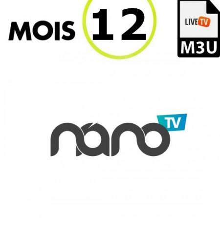 SERVICE NANOTV 12M IPTV - 2