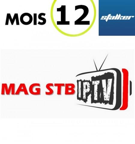 SERVICE STALKER MAG 25X 12M IPTV - 2