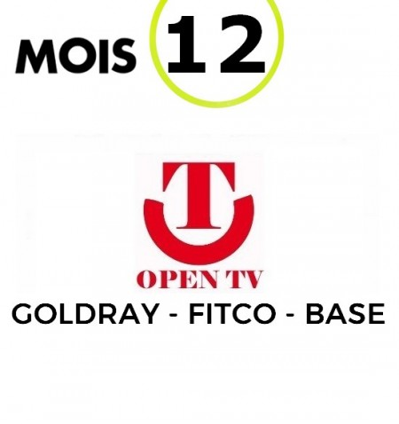 SERVICE OPENTV 12M STB IPTV - 1