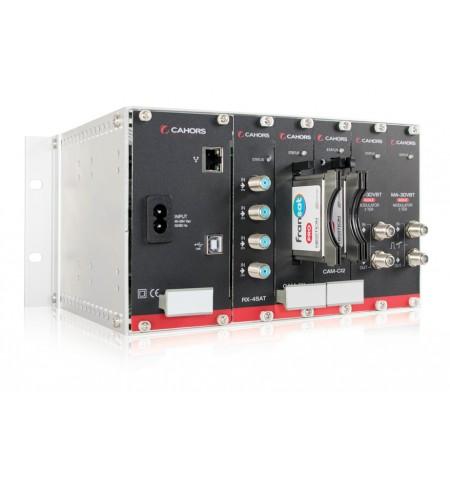STATION CAHORS QPSK/COFDM 3 MOD DVBS2X CAHORS - 2